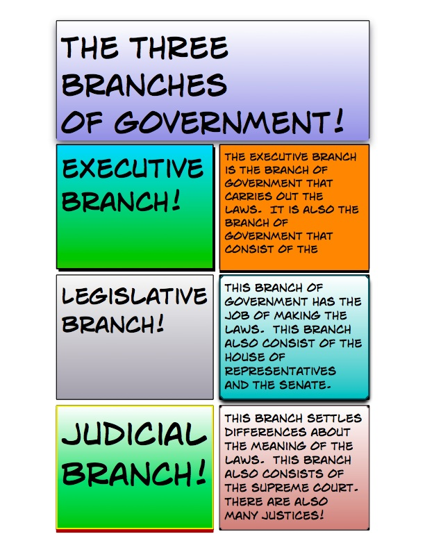 essays on the three branches of government
